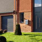 A development of new builds in Duffield. Hormann front doors and Hormann sectionals in Duffield.