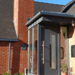 A closer look at  a Hormann Front Door in Derby.